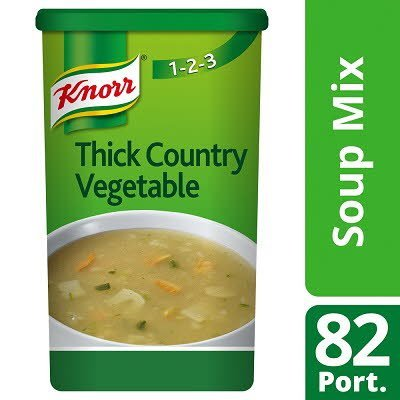 Knorr 123 Thick Country Vegetable Soup 14 Litre