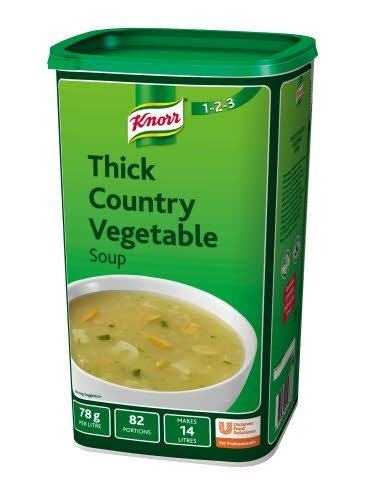 Knorr 123 Thick Country Vegetable Soup 14L