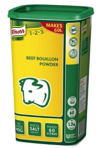 Knorr Beef Powder Bouillon 1.2kg
