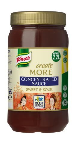 Knorr Blue Dragon Sweet & Sour Concentrated Sauce 1.1L