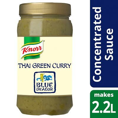 Knorr Blue Dragon Thai Green Curry Concentrated Sauce 1.1L