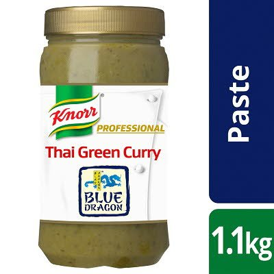 Knorr Blue Dragon Thai Green Curry Paste 1.1kg -
