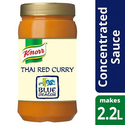 Knorr Blue Dragon Thai Red Curry Concentrated Sauce 1.1L -