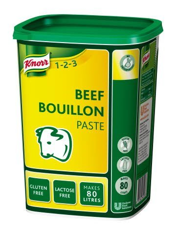 Knorr Gluten Free Beef Paste Bouillon 80L -