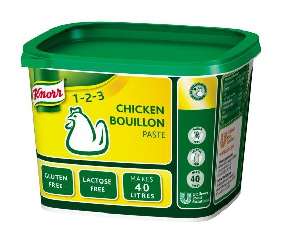 Knorr Gluten Free Chicken Paste Bouillon 40L