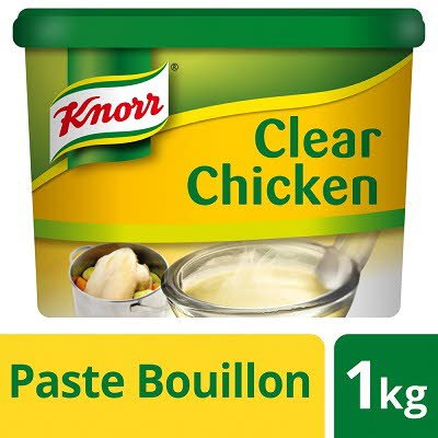 Knorr Gluten Free Clear Chicken Paste Bouillon 1kg