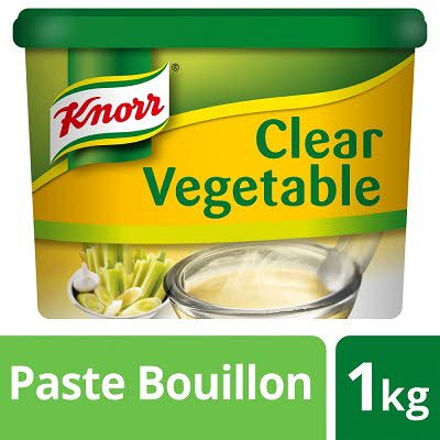 Knorr Gluten Free Clear Vegetable Paste Bouillon 1kg
