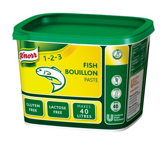 Knorr Gluten Free Fish Paste Bouillon 40L