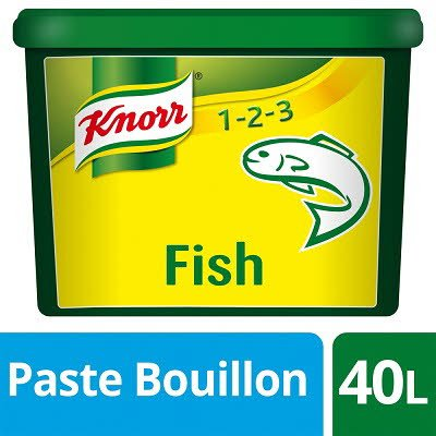 Knorr Gluten Free Fish Paste Bouillon 40L -