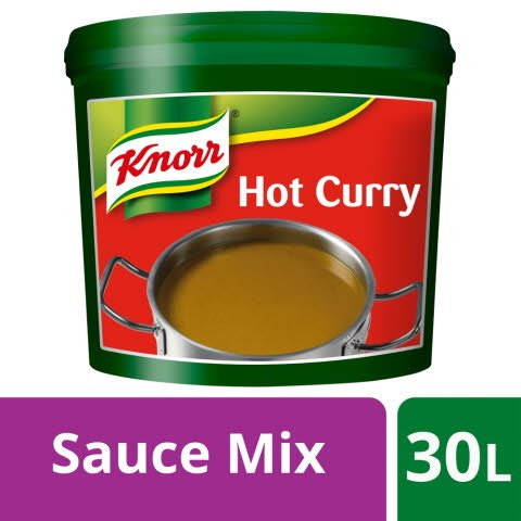 Knorr Gluten Free Hot Curry Sauce Mix 30L