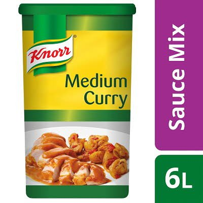 Knorr Gluten Free Medium Curry Sauce Mix 6l Unilever Food