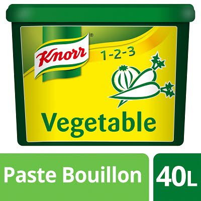 Knorr Gluten Free Vegetable Paste Bouillon 40L