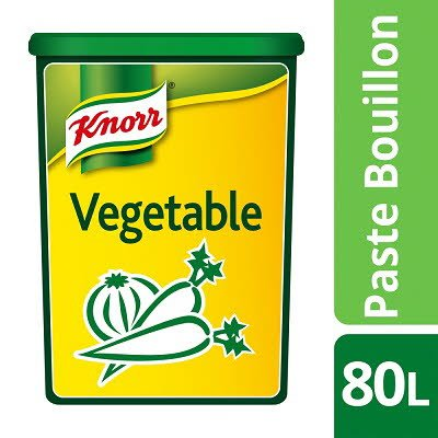Knorr Gluten Free Vegetable Paste Bouillon 80L -