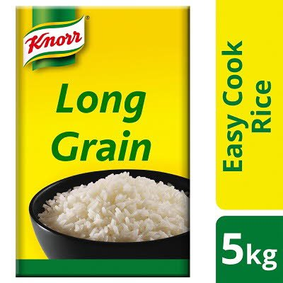 Knorr Long Grain Rice (BOX) 5kg