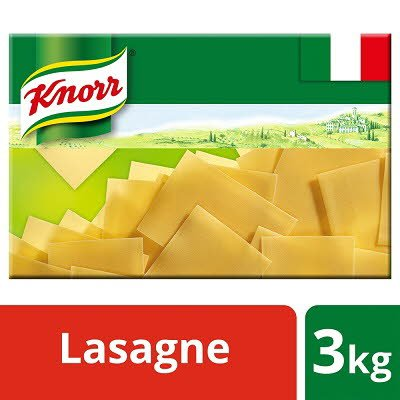 Knorr Pasta Lasagne 3kg -