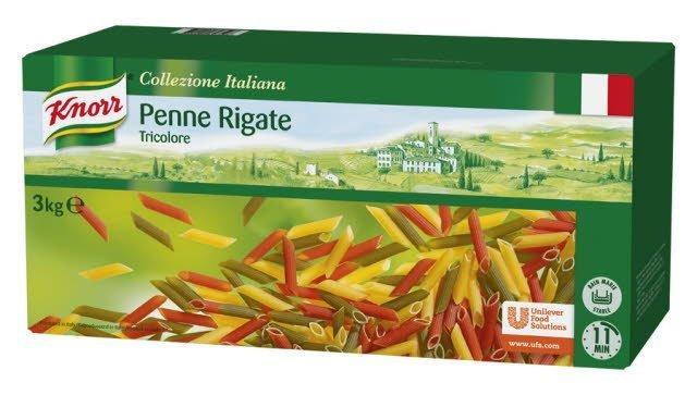 Knorr Pasta Penne Tricolore 3kg