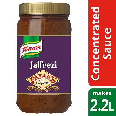 Knorr Patak's Jalfrezi Concentrated Sauce 1.1L