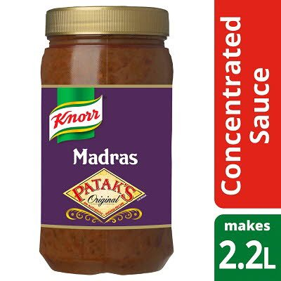 Knorr Patak's Madras Concentrated Sauce 1.1L -
