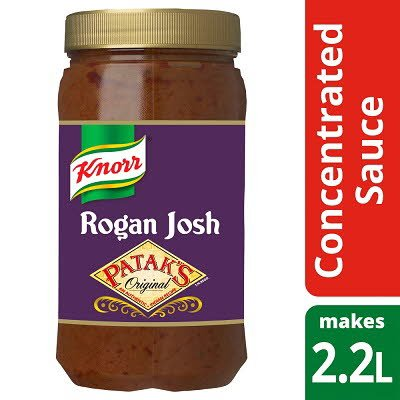 Knorr Patak's Rogan Josh Concentrated Sauce 1.1L -
