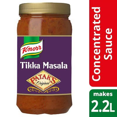 Knorr Patak's Tikka Masala Concentrated Sauce 1.1L