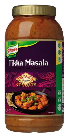 Knorr Patak's Tikka Masala Sauce 2.2L
