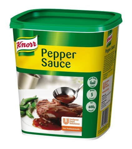 Knorr Pepper Sauce Mix 5L