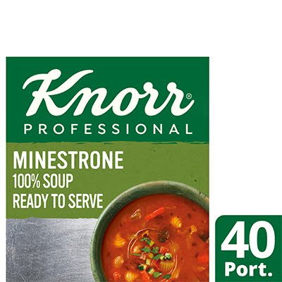Knorr Professional 100% Soup Minestrone 4x2.4L -