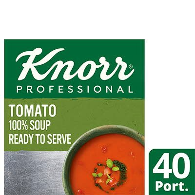 Knorr Professional 100% Soup Tomato 4x2.4L -