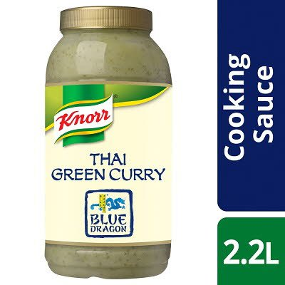 Knorr Professional Blue Dragon Thai Green Curry Sauce 2.2L -