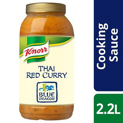 Knorr Professional Blue Dragon Thai Red Curry Sauce 2.2L -