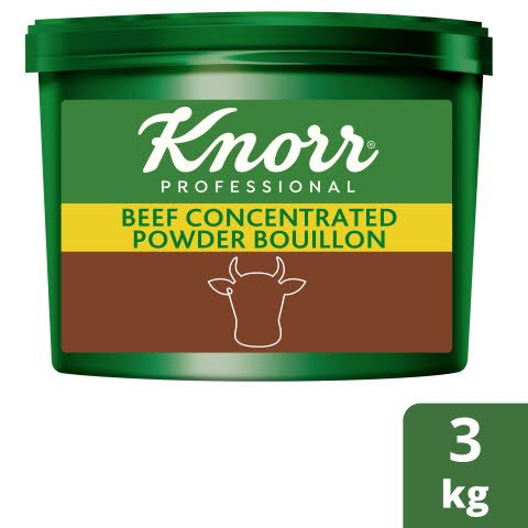 Knorr® Professional Concentrated Beef Powder Bouillon 3kg -
