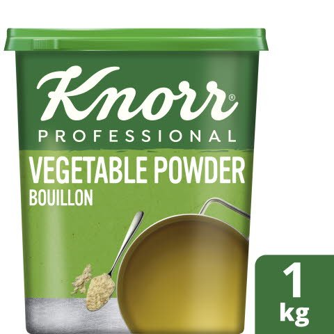 Knorr® Professional Vegetable Powder Bouillon 1kg -