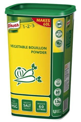 Knorr Vegetable Powder Bouillon 1.2 kg -