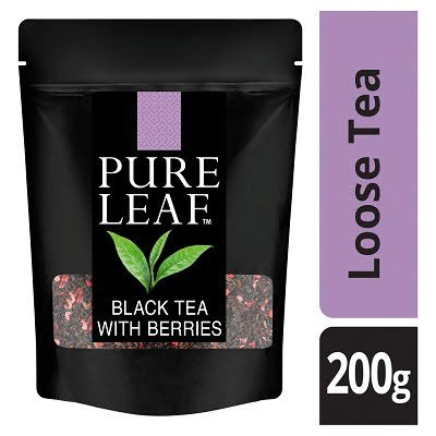 Pure Leaf Black Tea With Berries Loose Leaf Tea 200g -