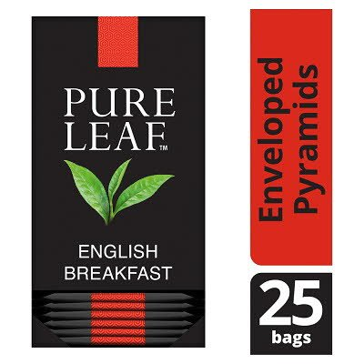 Pure Leaf English Breakfast 25 Enveloped Tea Bags -