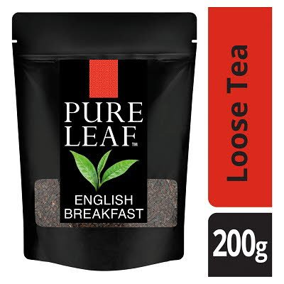 Pure Leaf English Breakfast Loose Leaf Tea 200g