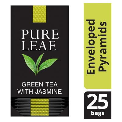 Pure Leaf Green Tea With Jasmine 25 Enveloped Tea Bags -