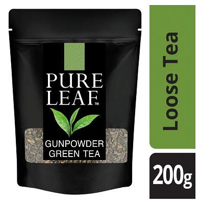 Pure Leaf Gunpowder Green Loose Leaf Tea 200g -