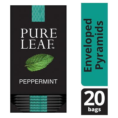 Pure Leaf Peppermint 20 Enveloped Tea Bags -
