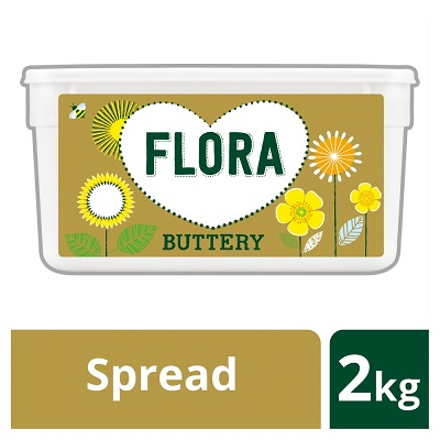 Flora Buttery 2kg - The great taste you can trust.