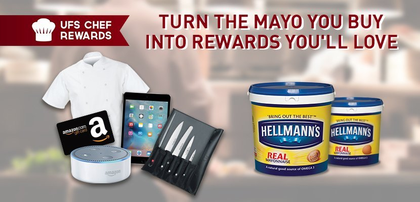 Hellmann's Real Mayonnaise 10L - Start getting more from your mayo. Sign up now at UFSChefRewards.com**
