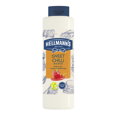 Hellmann's Sweet Chili Sauce 850ml - 73% of guests have a better impression of an establishment when it uses brands they likeⁱ
