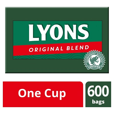 Lyons Original 1 Cup Tea bags 1 x 600 tea bags