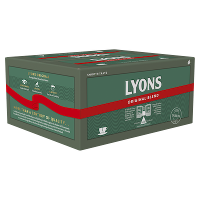 Lyons Original 600 1 Cup Catering Tea Bags - Ireland's favourite tea*