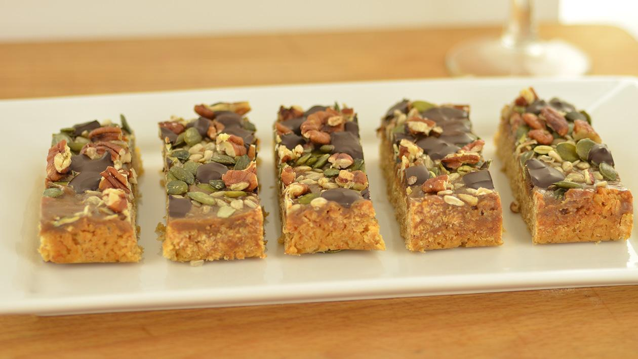 Love bar (toffee bar with seed)
