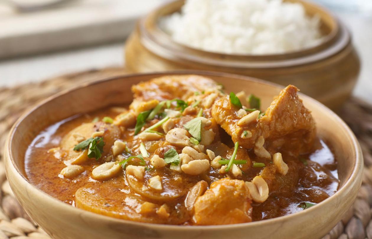 Massaman curry by Chris Barber