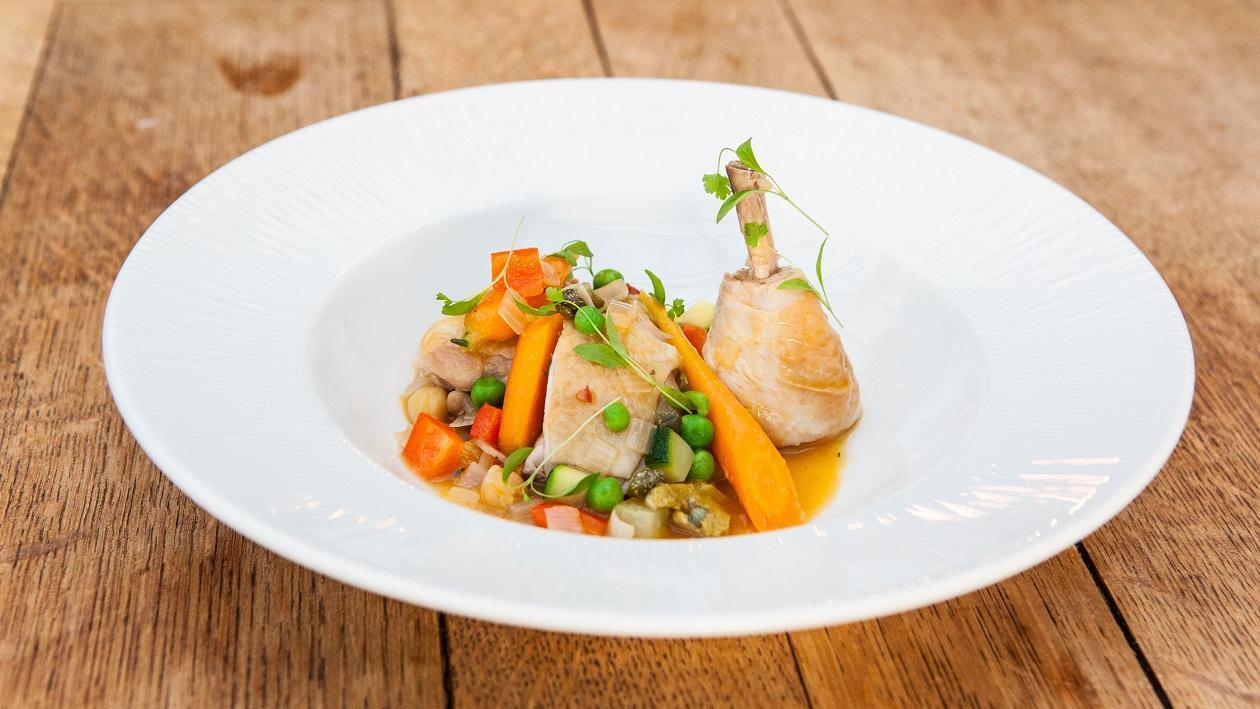 Provençal style chicken cassoulet by Larry Jayasekara