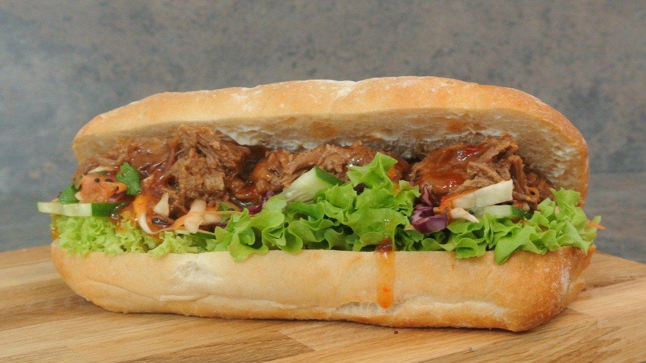 Thai style Beef Sandwich