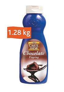 Carte D'or Chocolate Topping (12x1.28KG) -