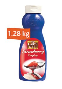 Carte D'or Strawberry Topping (12x1.28KG)